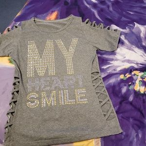 """My Heart Smile"" top"